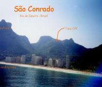 Sito de vôo Sao Conrado Rio de Janeiro